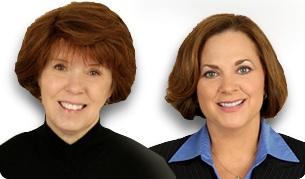 Paula Wilder and Carol Weber