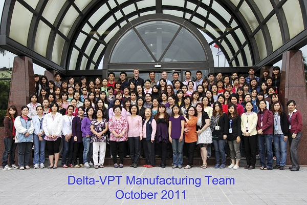 VPT visits its manufacturing partner, Delta Electronics, in Taiwan