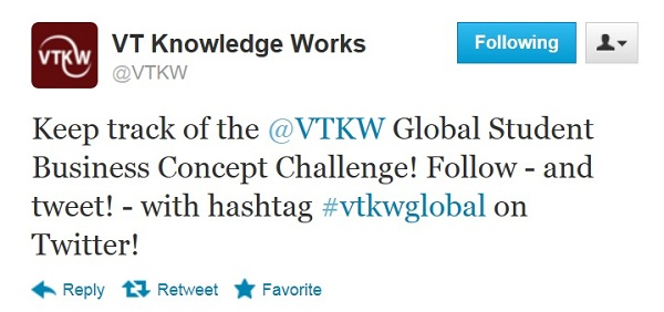Use hashtag #vtkwglobal!