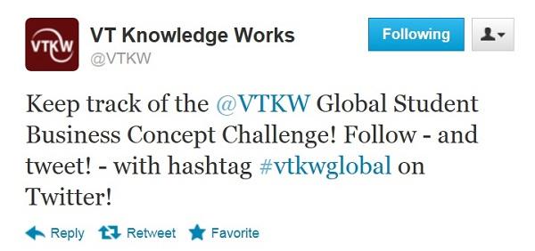 Use hashtag #vtkwglobal!