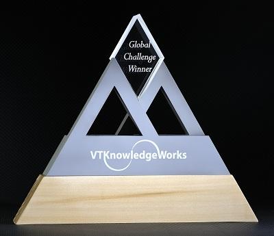 VT KnowledgeWorks Global Challenge Trophy
