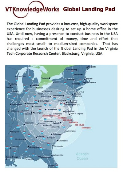 VT KnowledgeWorks Global Landing Pad