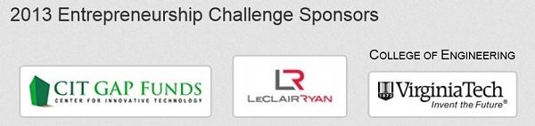 Thank you to our Entrepreneurship Challenge sponsors!