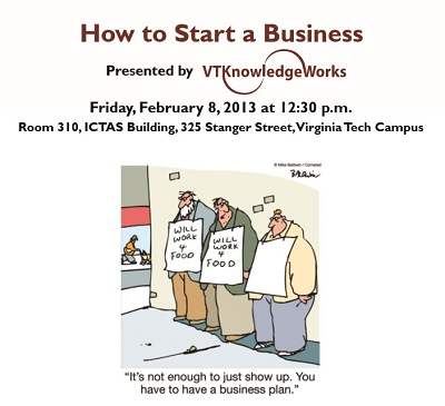 Workshop: How to Start a Business