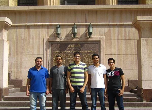 Team Tawasal from Alexandria University